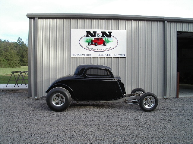 1933 Ford Coupe Body Choices…