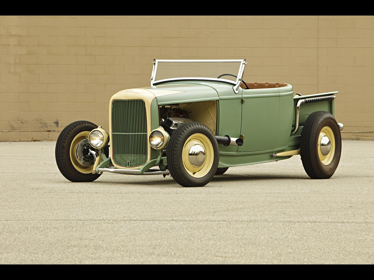 art director and hot rodder 1932 ford roadster pickup. Black Bedroom Furniture Sets. Home Design Ideas