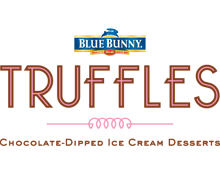 Blue Bunny Truffles Logo
