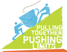 Pulling Together Pushing Limits Logo