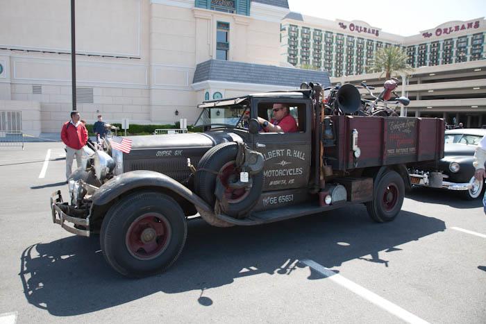 Art Director And Hot Rodder Viva Las Vegas Rockabilly Car Show - Rockabilly car show