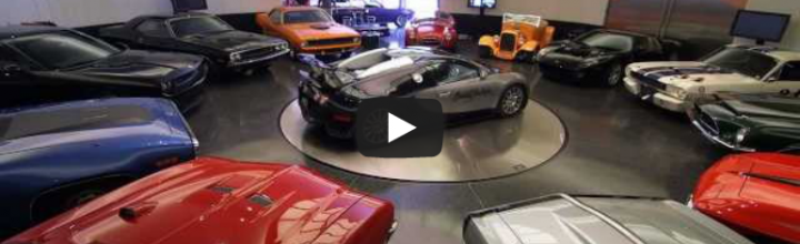 Video: Inside Craig Jackson's Garage