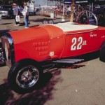 Tony Nancy's 1929 Model A Roadster Dragster At The Dragstrip