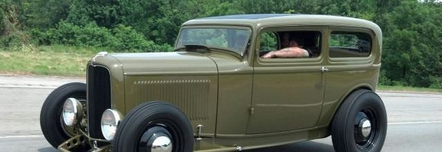 Car Feature: Steadfast Mfg 1932 Ford Sedan