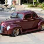 Ron Cizek 1940 Ford Coupe 3/4 Front