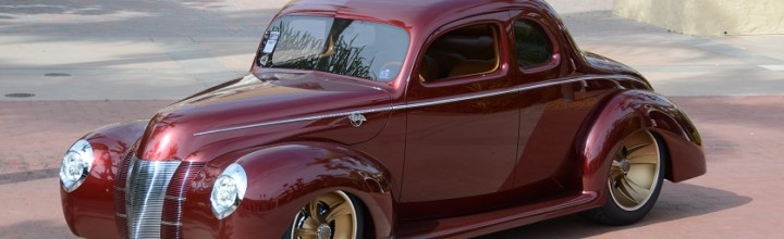 "Car Feature: Ron Cizek's ""Checkered Past"" 1940 Ford Coupe"
