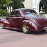 Ron Cizek 1940 Ford Coupe 3/4 Back