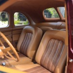 Ron Cizek 1940 Ford Coupe Interior