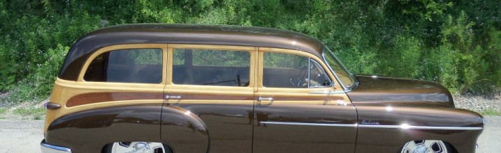 Car Feature: Customs by Kilkeary 1949 Chevrolet Tin Woody