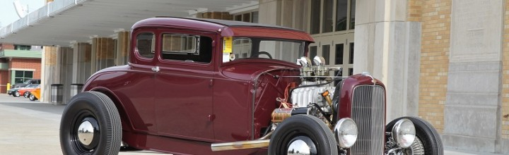 Car Feature: Supercharged Model A Wins Goodguys 2014 Tank's Hot Rod of the Year Award