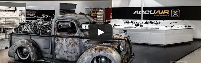 Video: AccuAir Suspension Presents SEMA 2014