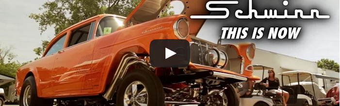 Video: Dave Ver Schave's Schwinn Bicycle Themed 1955 Chevy Gasser