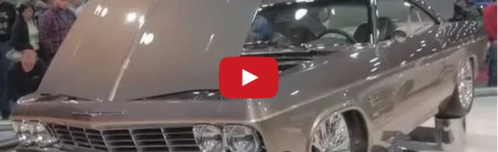 Video: Chip Foose 1965 Impala 'Impostor' Takes 2015 Ridler Award