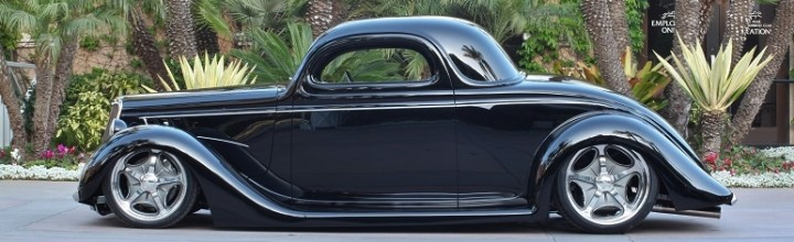 Car Feature: Goodguys Street Rod d'Elegance Randy Marston's 1935 Ford Coupe