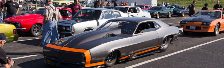 Event Coverage: Day 1 of Hot Rod Magazine's 2015 Drag Week